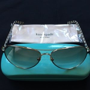 New kate spade ♠️ Blossom Aviator Sunglasses NY